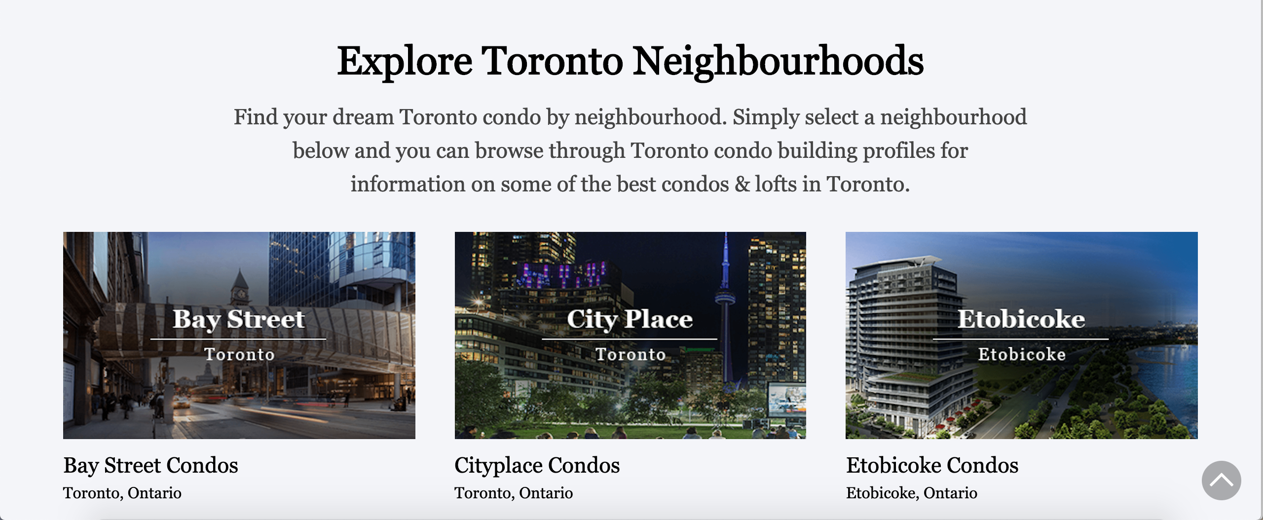 Top 5 Neighbourhoods To Live In Downtown Toronto